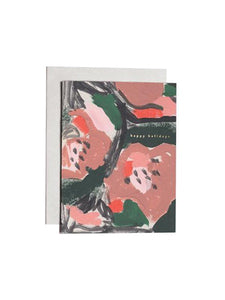 Moglea - Floral Holiday Card