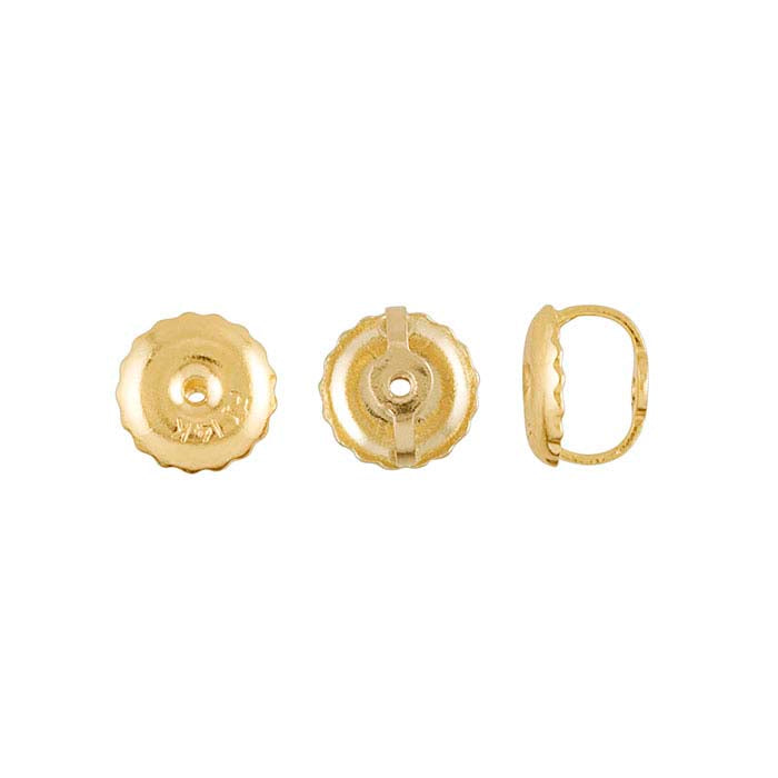 Replacement Earring Screw Back / Gold