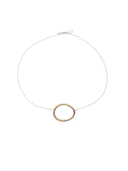 Cory Short Necklace / Brass
