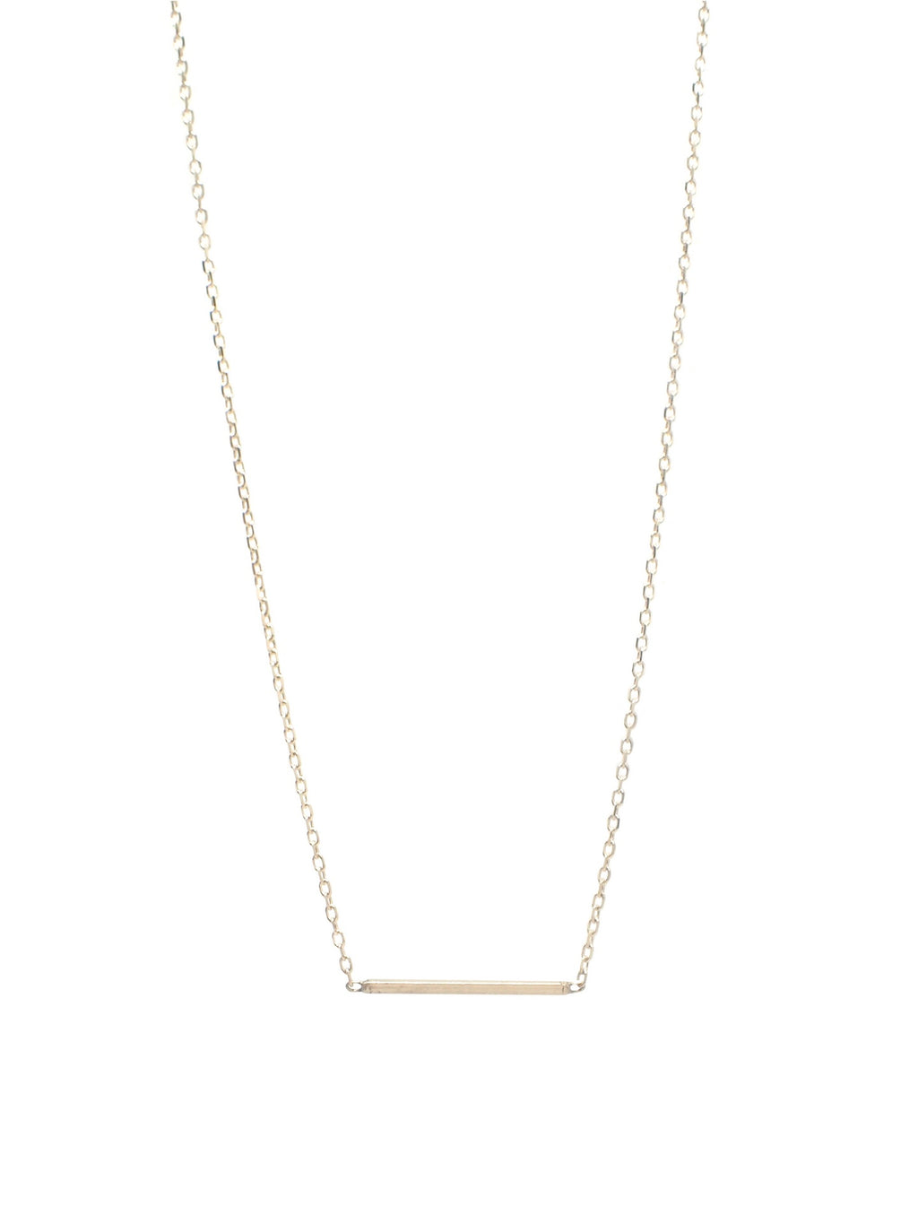Rubik Necklace / 14Kt Yellow Gold