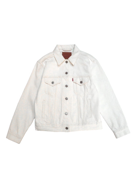 Levi's - Ex-Boyfriend Trucker Jacket / White Denim