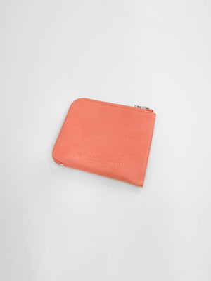 BBC - Side Zip Wallet / Peach