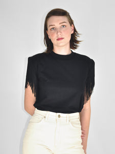 Boyne Chainette Tee / Black
