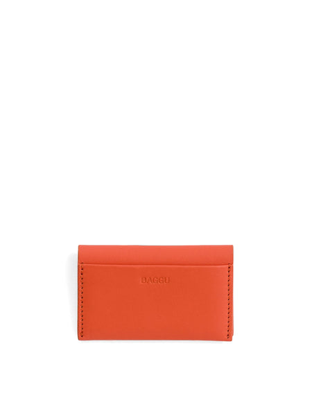 Baggu - Card Holder / Warm Red