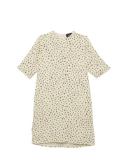 Beth - Park Dress / Dot Crepe