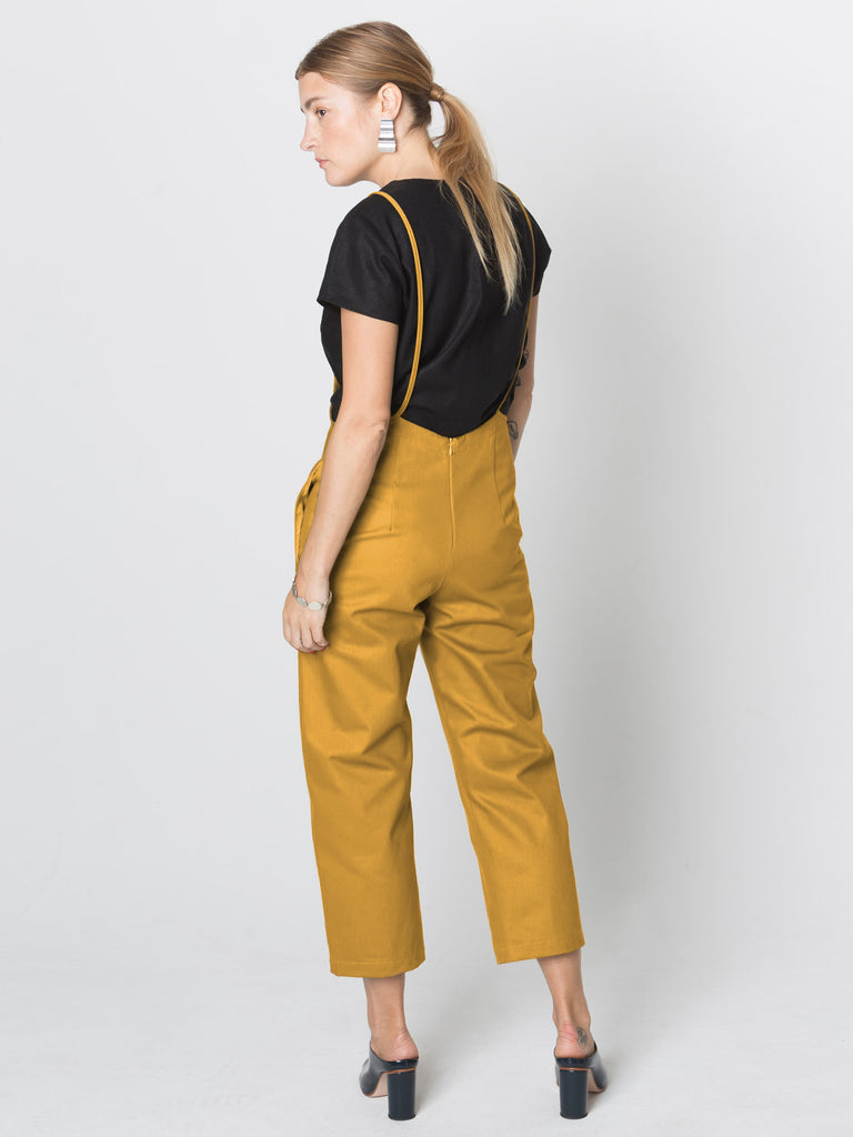 Beth - Hoyt Pant / Gold Twill