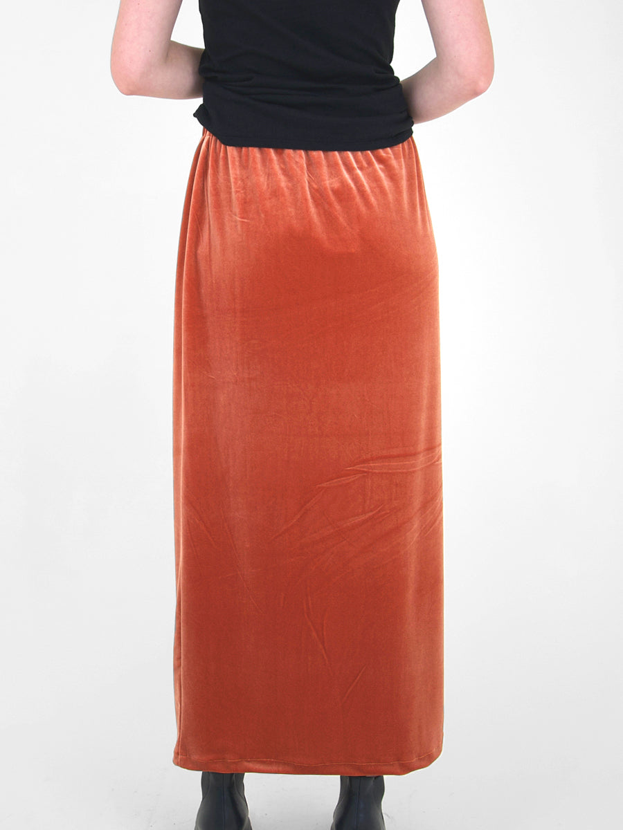 Beth - Porch Skirt / Copper Velvet