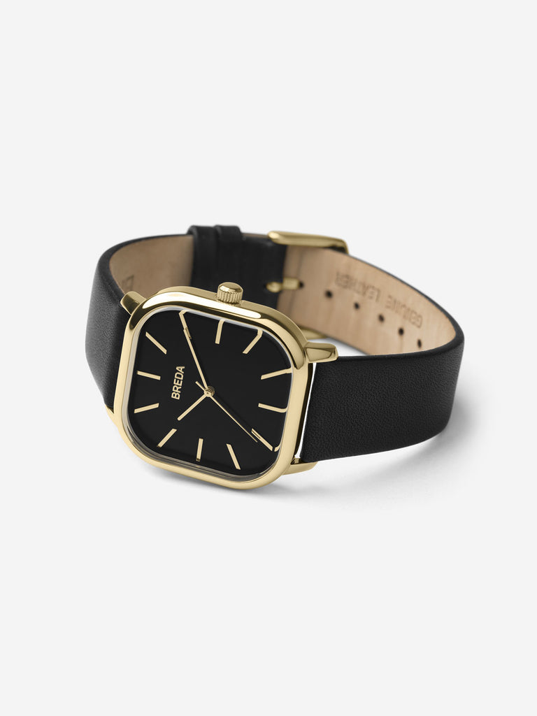 Breda - Visser Watch / Black & Gold