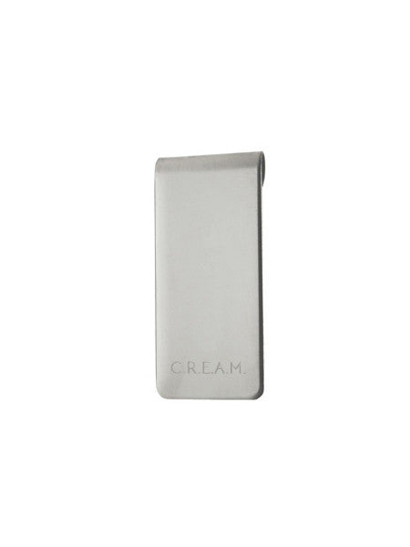 IGWT - Money Clip / CREAM / Silver
