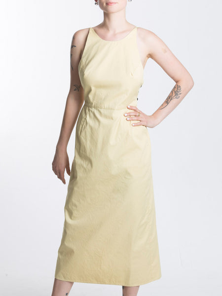 Copra Dress / Lemon Combed Cotton