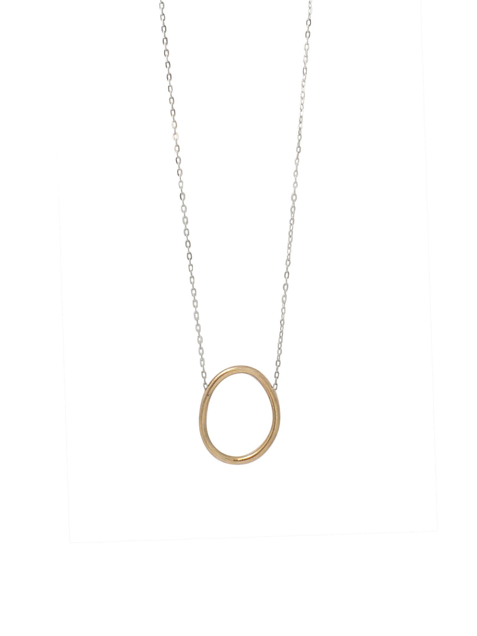Cory Long Necklace / Brass
