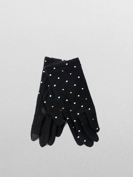 Echo - Dot Dot Glove / Black