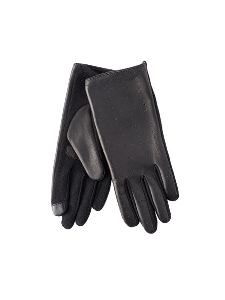 Echo - Everyday Leather Gloves / Black