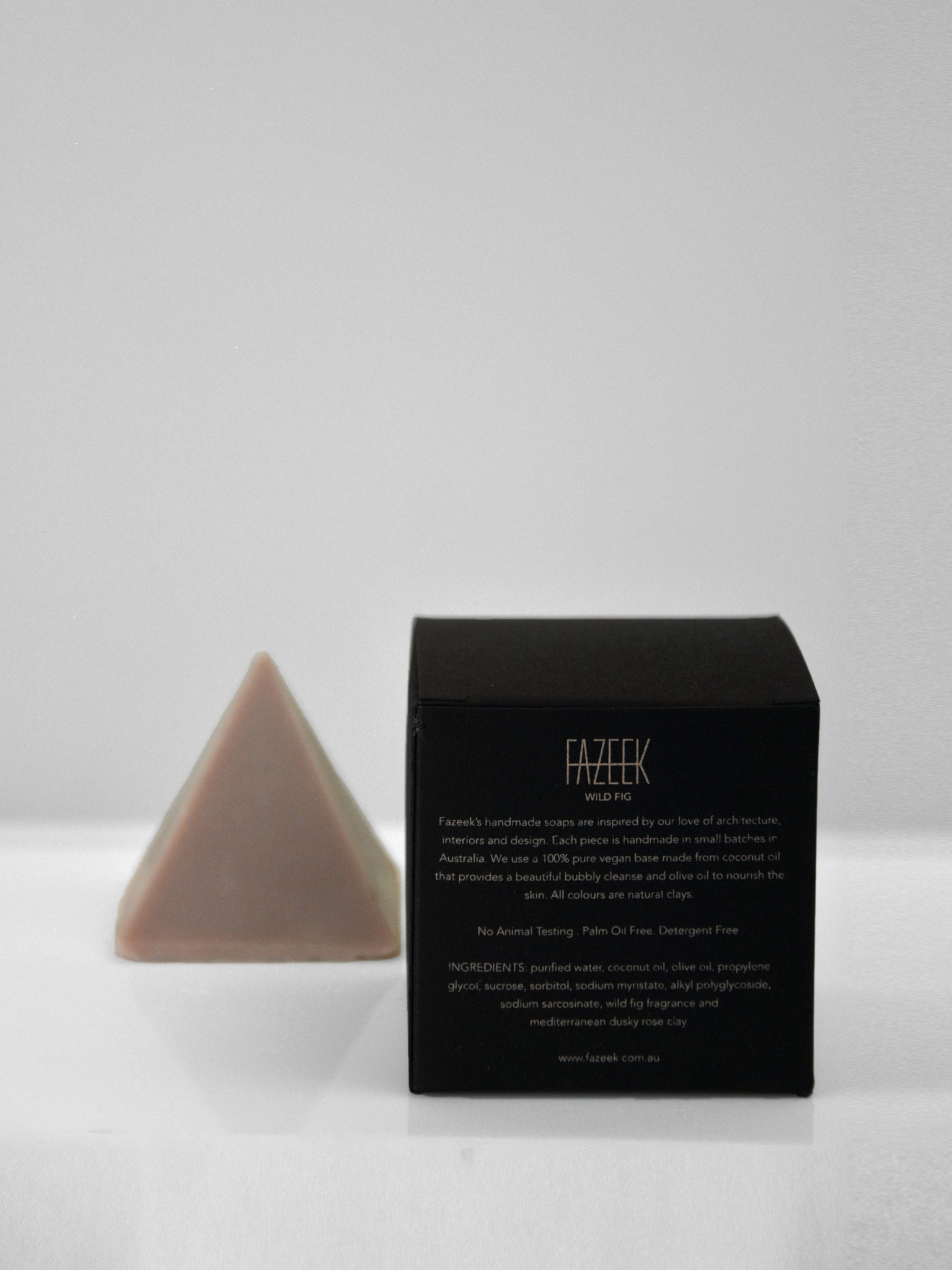 FAZEEK - Pyramid Soap / Wild Fig