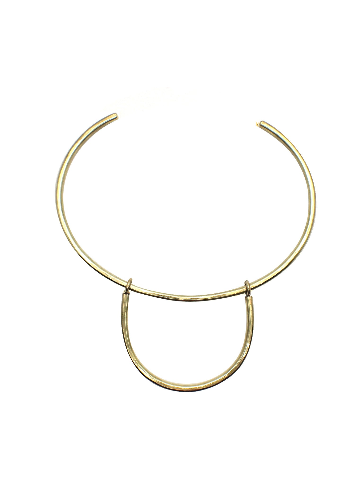 Gratias Collar / Brass