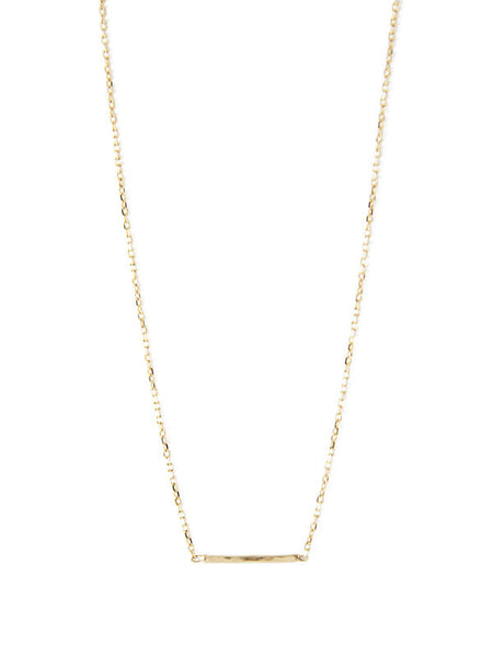 Thread Chain Necklace / Gold