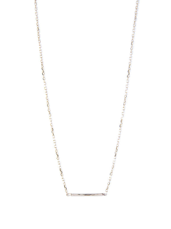 Thread Chain Necklace / Silver