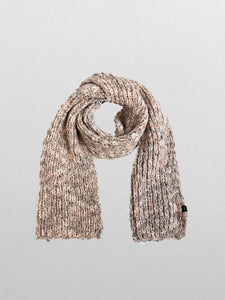 Echo - Heathered Roving Scarf / Pink