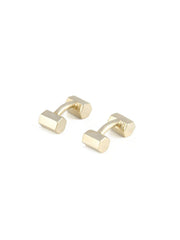 Honeycomb Cufflinks / Brass