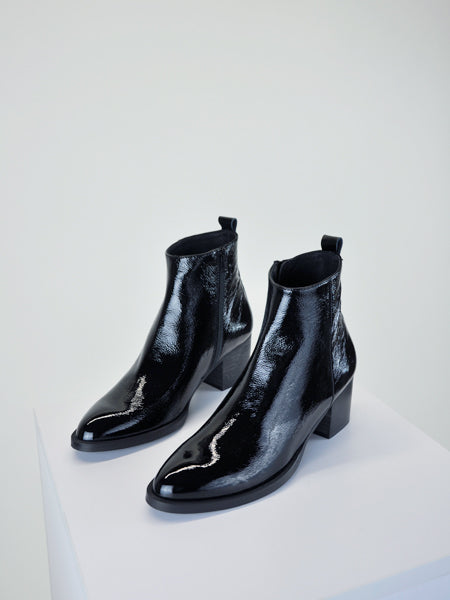 Intentionally Blank - Christopher / Black Patent Leather