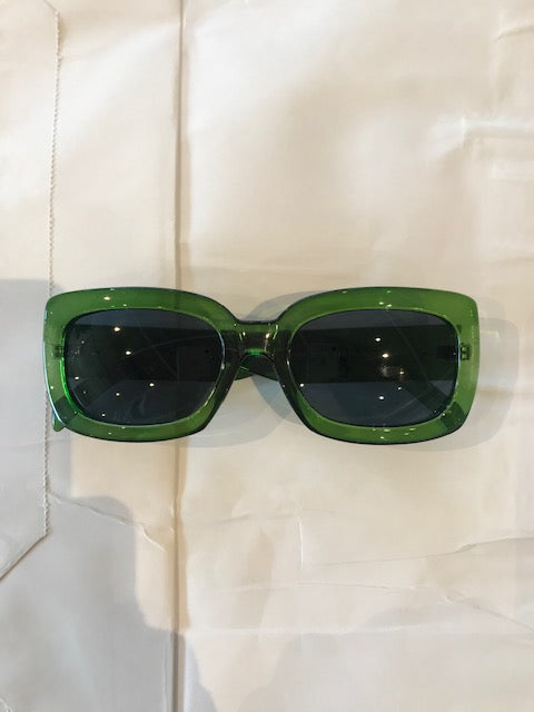 Sunglasses - Glamourama / Green