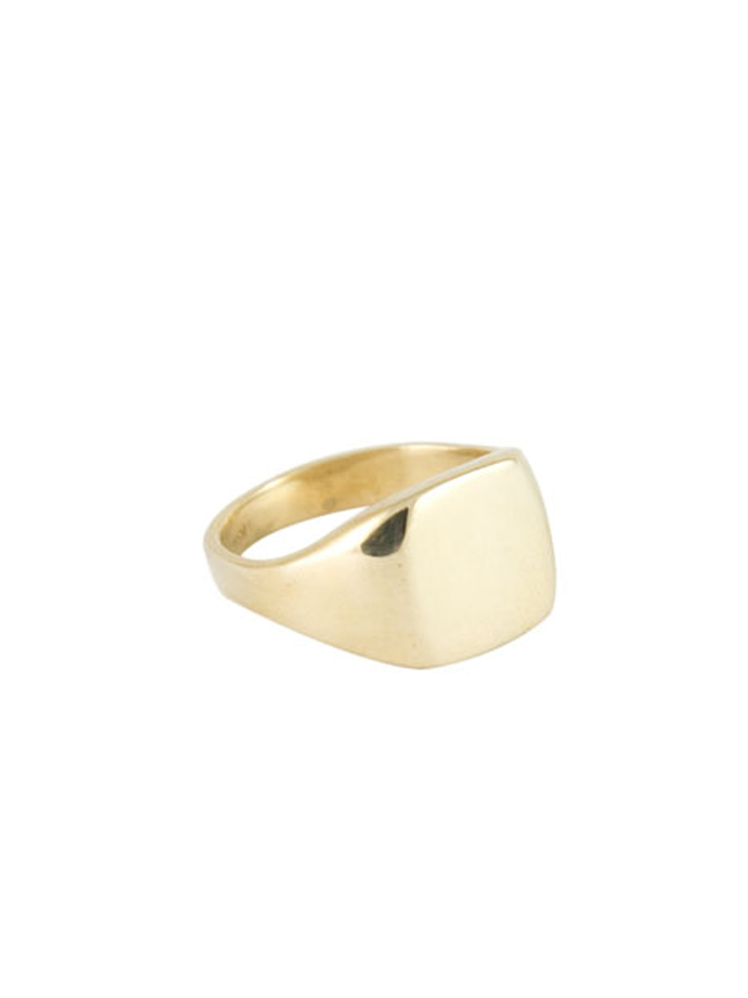 Initial Ring / Brass