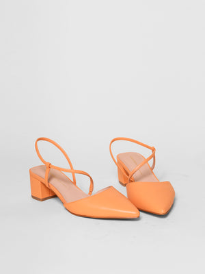 Intentionally Blank - Viv Slingback Pump / Melon