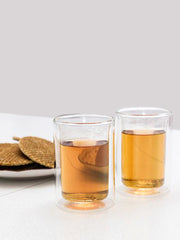 Kikkerland - Double Wall Glass Cup