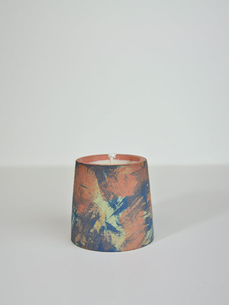Little Garage Shop - 4oz Coriander & Black Pepper Candle / Bermuda & Cobalt