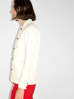 Lee - Loco Chore Coat / Ecru Herringbone