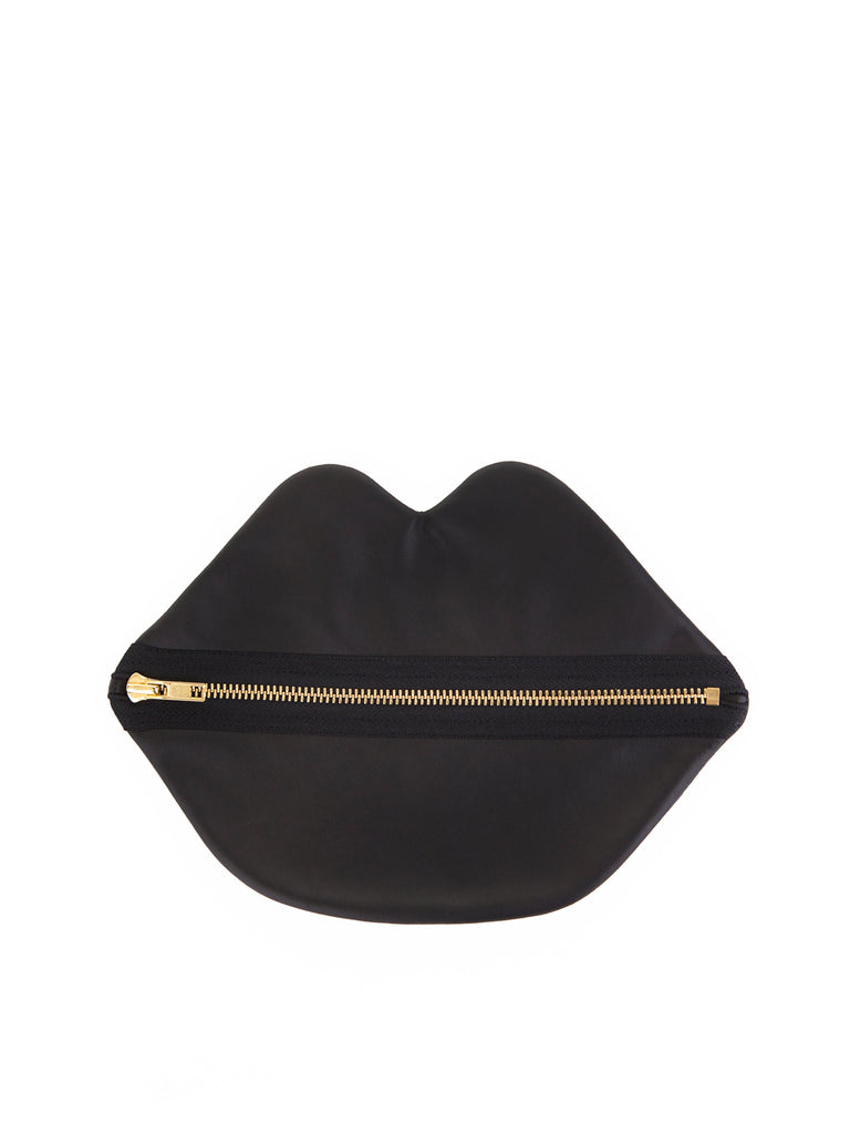 Claflin, Thayer & Co. - Lips Pouch / Black
