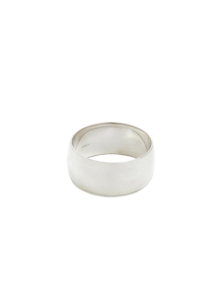 Mega Low Dome Ring / Silver