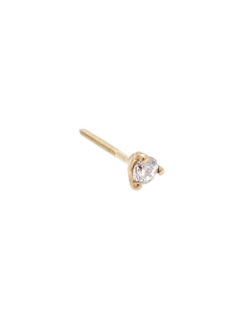 Mini Martini Stud / Gold