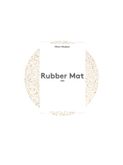 "Most Modest - 7"" Rubber Mat / White"