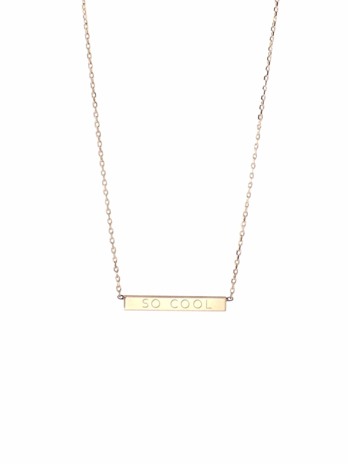 Nomine Necklace / Gold