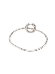 Oi Toggle Bangle / Silver
