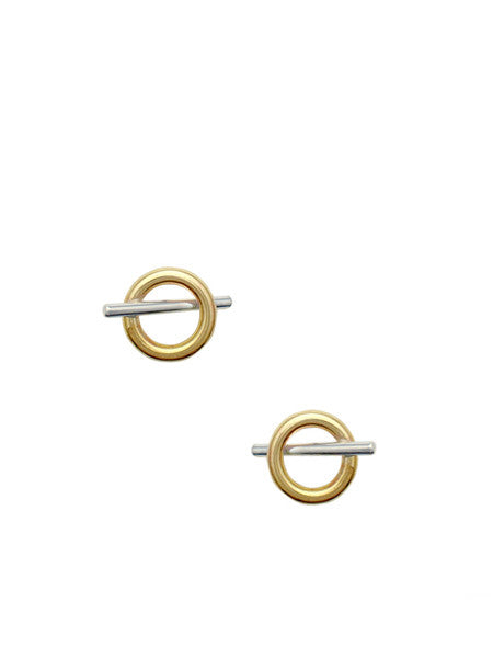 Oi Toggle Earrings