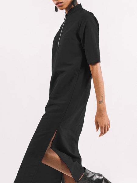 Percy Dress / Black Crepe