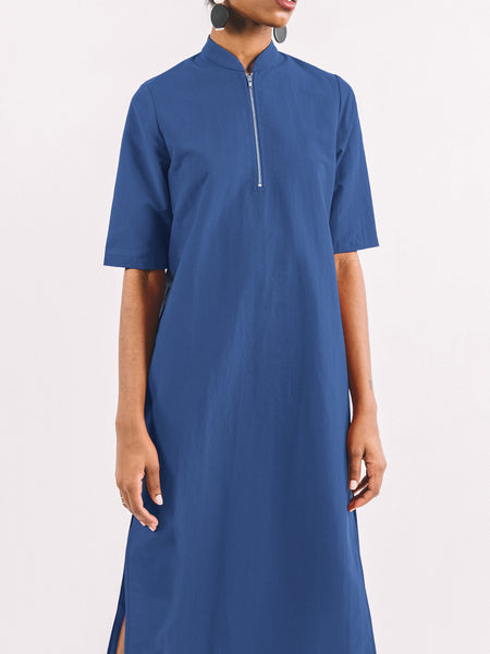 Percy Dress / Blue Georgette