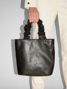 Primecut - Scrunchie Bag / Black Leather
