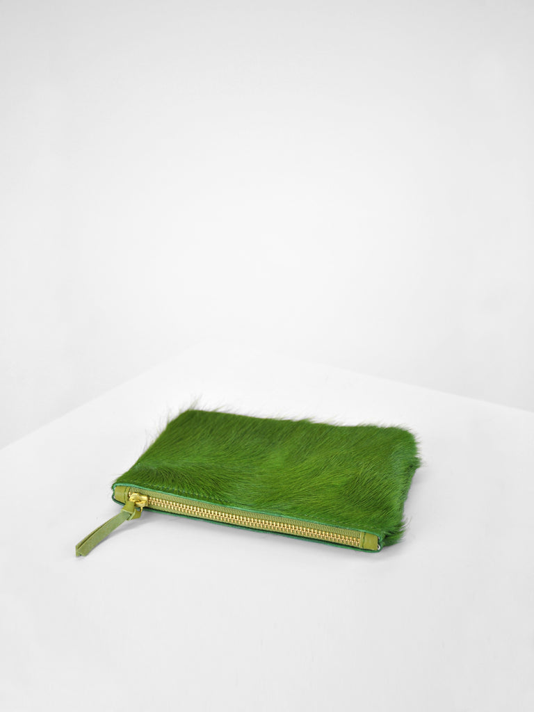 Primecut - Zip Wallet / Green Cowhide