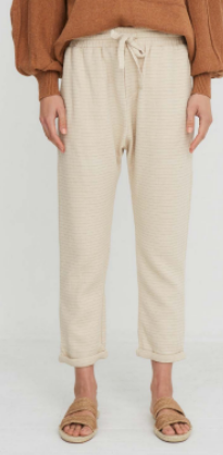 Little Lies - Relaxed Pants / Natural