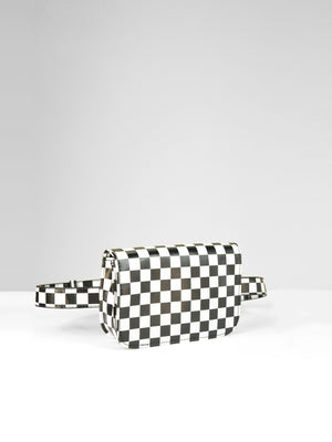 Surrender Belt Bag / Black Grid