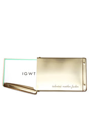 IGWT - Flip Top Card Case / Talented Motherfucker / Brass