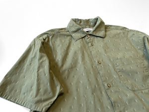 UP! - Reworked Button-Down Shirt  / Drab
