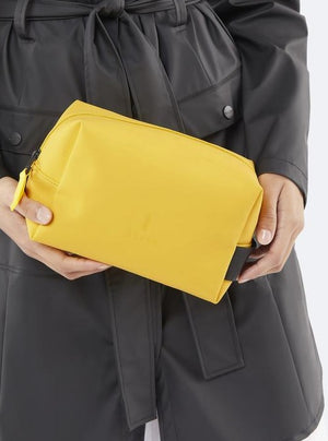 Rains - Wash Bag Small / Yellow