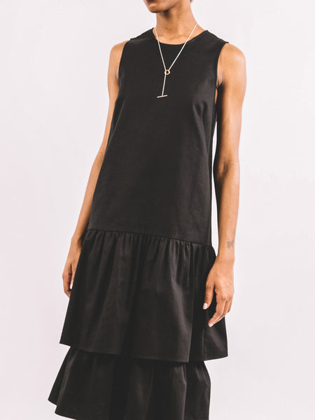Wendy Dress / Black Twill