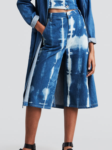 Levi's Made & Crafted- Summer Culotte / Sky Shibori