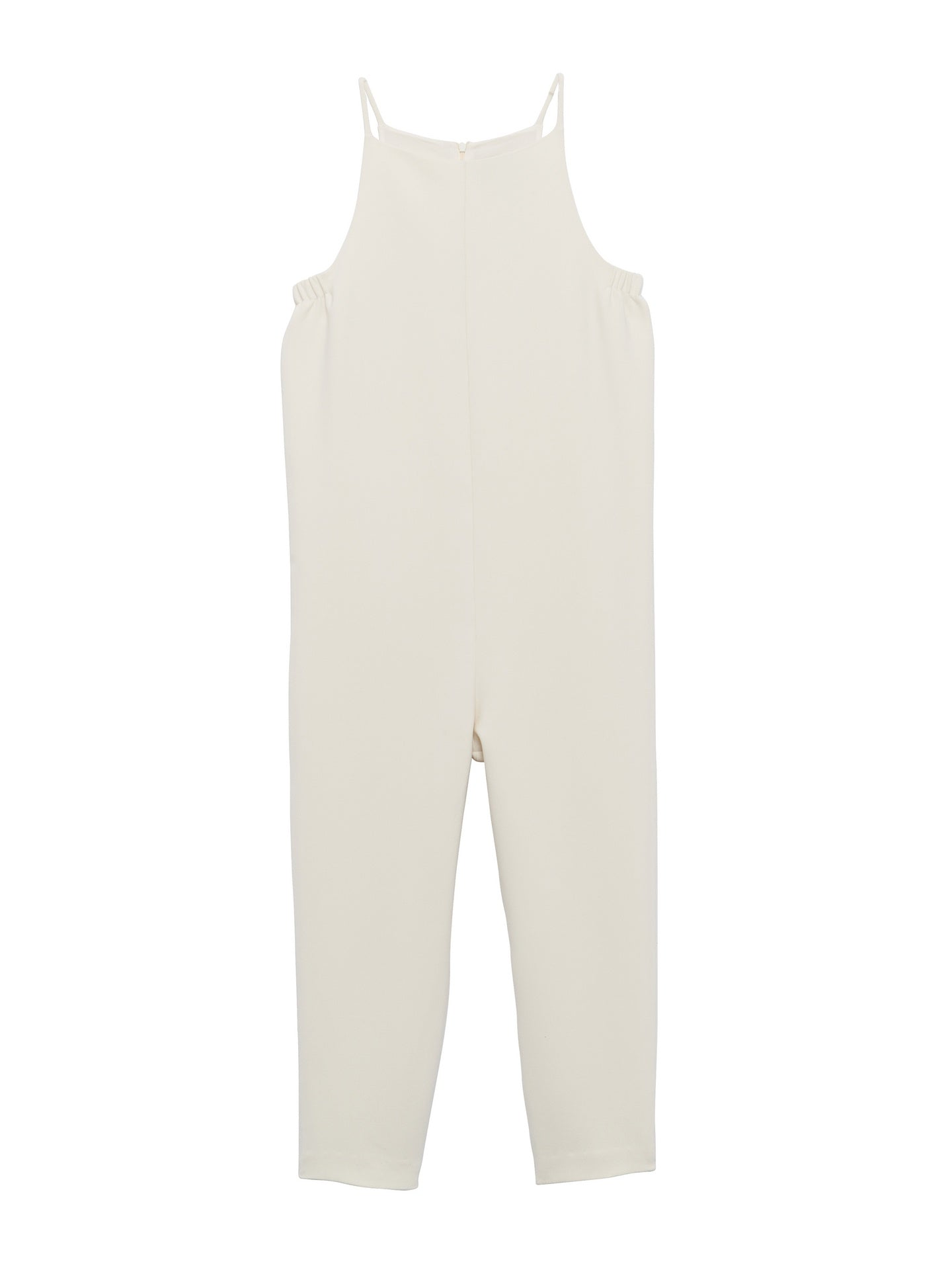 Beth - Yard Jumpsuit / White Crepe