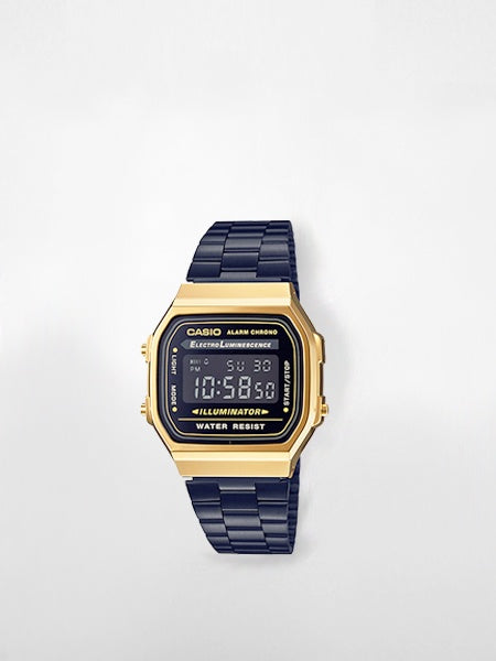 Casio - Classic Digital Watch / Black and Gold